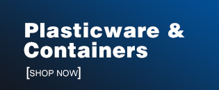 Plasticware & Containers