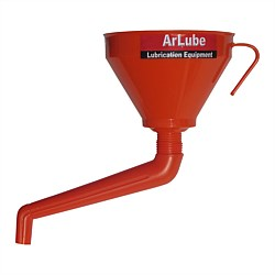 Arolube Large Angular Spout Funnel with Filter