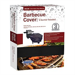 Deluxe BBQ Cover 3 Burner Hooded