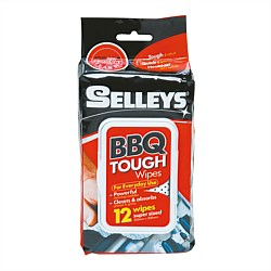 Selleys BBQ Tough Wipes 12 Pack