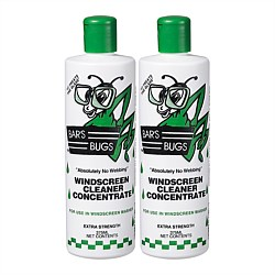 Bars Bugs Windscreen Cleaner Twin Pack
