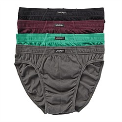 4 Pack Hipster Briefs Jockey