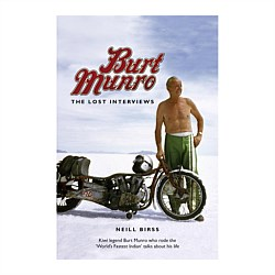 Burt Munro - The Lost Interviews Book
