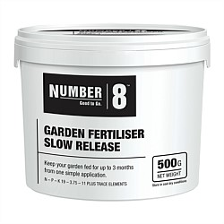 Number 8 Slow Release Fertiliser 500g
