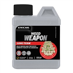 Kiwicare Weed Weapon Long Term Concentrate