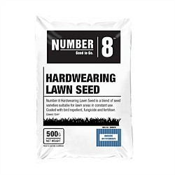 Number 8 Hard Wearing Lawn Seed