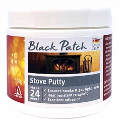 Firewise Black Patch Stove Putty