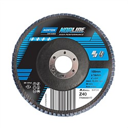 Norton Norline 100x16mm Flap Disc