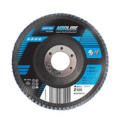 Norton Norline 115 x 22 Flap Disc