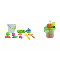 Beach Bucket Set Assorted Colours