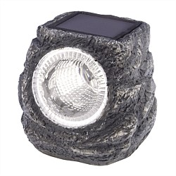 Number 8 Stone Solar Light