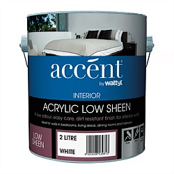 Accent Interior Acrylic Low Sheen White