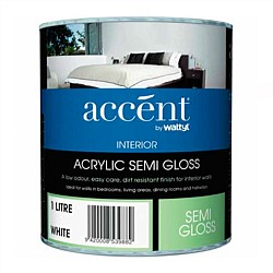 Accent Interior Semi-Gloss White