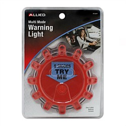 Allied Red & White LED Warning Light
