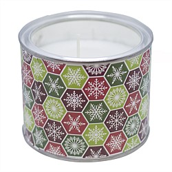 Home Fashion Christmas Candle In A Tin
