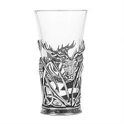 AE Williams Pewter Stag Shot Glass Holder