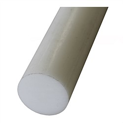 Acetal Plastic Rod Natural