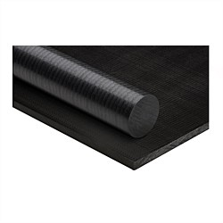 Acetal Plastic Rod Black