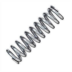 Century 7/32 Inch Zinc Plated Compression Spring 3PK