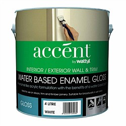 Accent Water Based Wall & Trim Gloss Enamel Paint