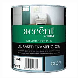 Accent Oil Based Gloss Enamel Paint