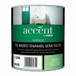 Accent Oil Based Semi Gloss Enamel Paint