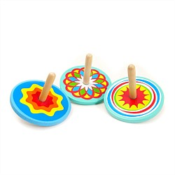 House Of Marbles Wooden Spinning Top