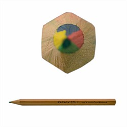 House Of Marbles Rainbow Colouring Pencil