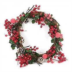 Wreath Red Fruit