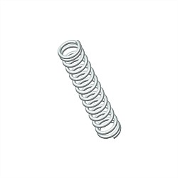 Century 1/4 Inch Stainless Compression Spring 3PK