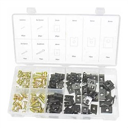 170 Piece Assorted Screw and Speed Nut Set