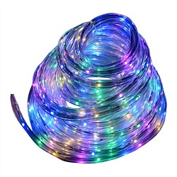 Southern Lights Multicoloured LED 30m Flat Rope Lights