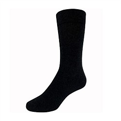 Mens Merino Health Sock Black