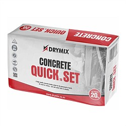 Drymix Quick To Set Concrete