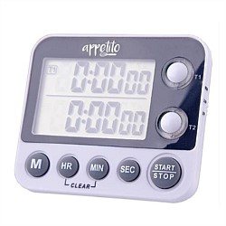 Appetito 100 Hour Dual Digital Timer