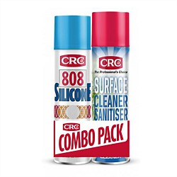 CRC 808 Silicone Spray & Sanitiser Combo Pack