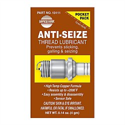 Anti Seize Thread Lube 4g Pocket Pack